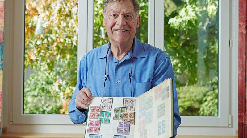 Val-de-Ruz: Philippe Schaer, l'homme qui a vendu des milliers de timbres en faveur des enfants