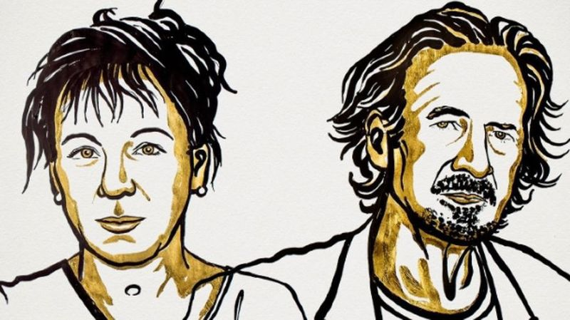 Le prix Nobel de littérature 2018 à Olga Tokarczuk et celui de 2019 à Peter Handke