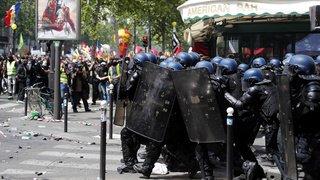 France: Paris quadrillée par les forces de sécurité pour une journée de manifestations à risque