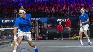Tennis – Laver Cup: la paire Federer-Zverev remporte le double, l'Europe mène 3-1