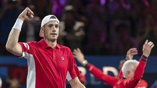 Tennis – Laver Cup: le Team World égalise avec la victoire de Isner face à Zverev