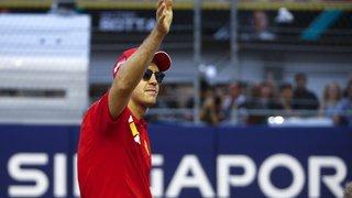 Formule 1: doublé Ferrari à Singapour, Vettel s'impose