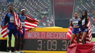 Athlétisme – Mondiaux de Doha: un 13e titre mondial pour Allyson Felix sur 4x400m