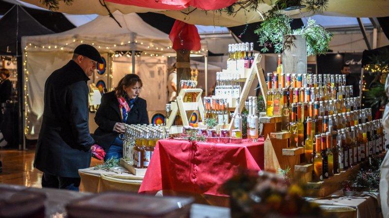 Les super marchés de Noël du canton de Neuchâtel et d'ailleurs