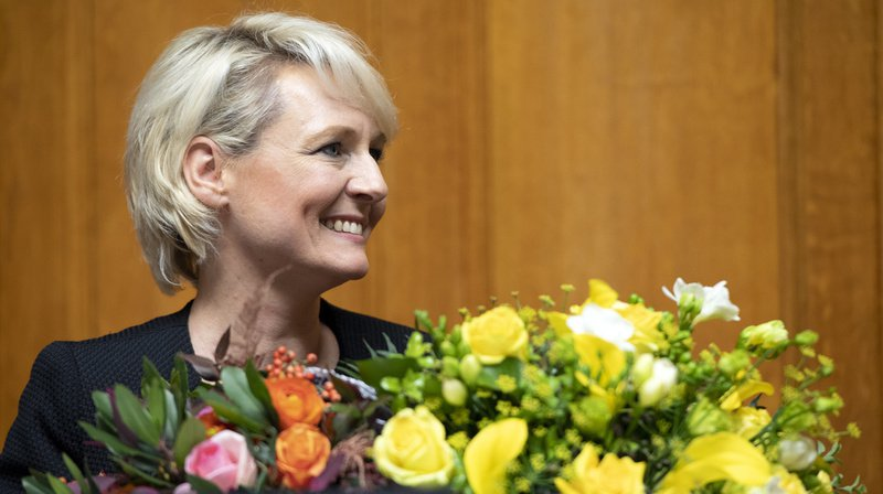 Conseil national: la PLR vaudoise Isabelle Moret devrait accéder à la présidence lundi