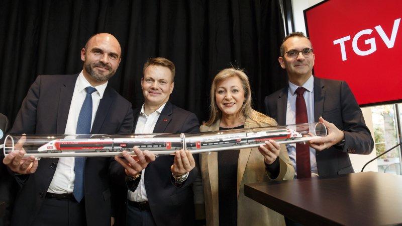 Suisse-Paris: la nouvelle rame du TGV Lyria circulera dès le 15 décembre