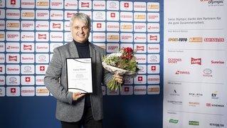 L'entraîneur neuchâtelois Franco Pisino honoré