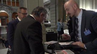 Les nouveaux parlementaires accueillis à Berne