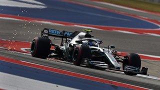 Formule1 – GP des USA: Valtteri Bottas, pilote Mercedes, en pole position