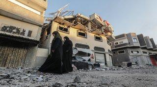 Frappes aériennes israéliennes: 22 Palestiniens tués dans la bande de Gaza