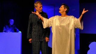 Le Landeron: la troupe Atrac emmène le public dans une comédie terrestre et un tribunal céleste