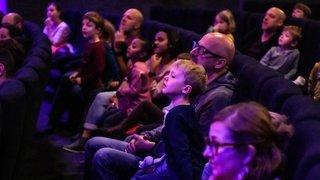 Première séance de cinéma pour les tout-petits Neuchâtelois