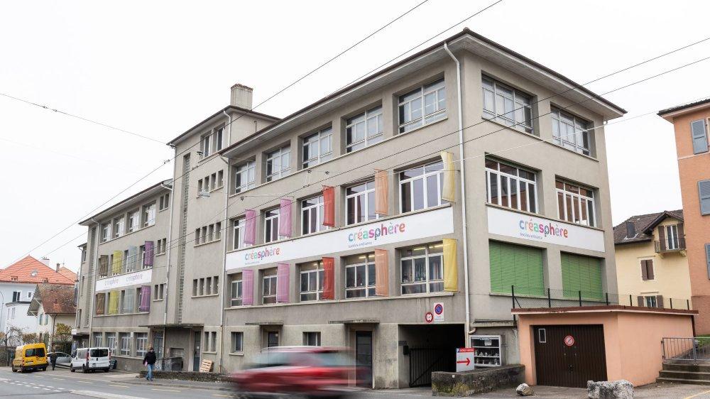 Textiles Ambiance s'est installé à la rue de Neuchâtel à Peseux en 1996.