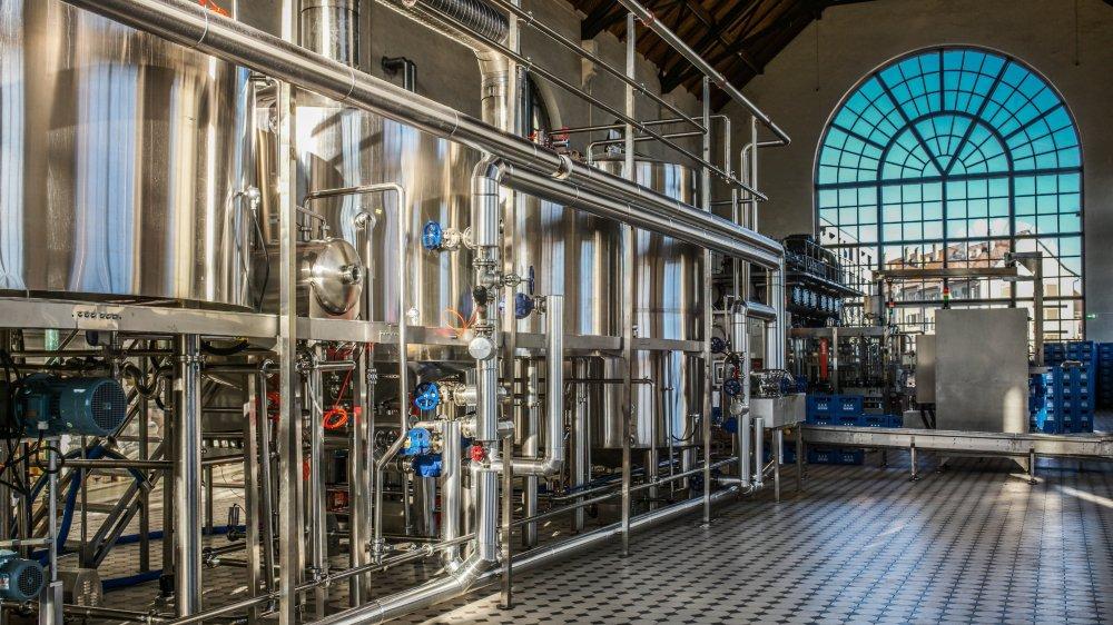 La brasserie de l'Avenir est installée à l'ancienne Usine électrique.