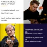 Concert n° 3 : Carte blanche piano & violon