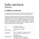 Info-seniors - Le BRIO se présente