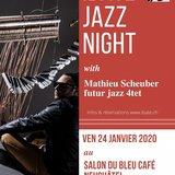 Soirée Ibaté avec Mathieu Scheuber Jazz Quartet
