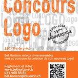 15e anniversaire Bel horizon - Concours Logo