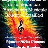 Concert de l'Association musicale BoudryCortaillod