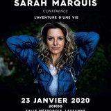 Conférence Sarah Marquis: L'aventure d'une vie
