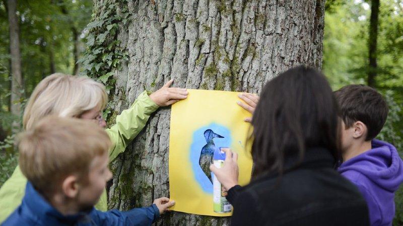 Education: née en Suisse alémanique, l'école en forêt attire de plus en plus les profs romands