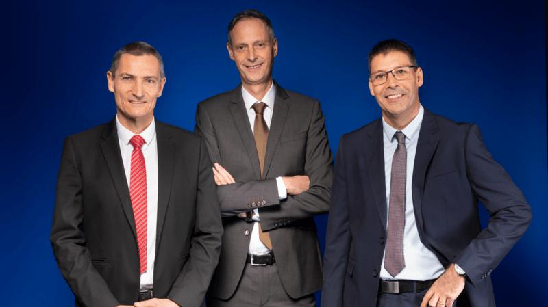 Groupe E annonce la nomination de trois nouveaux directeurs