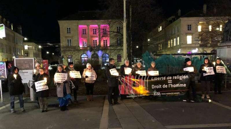 Dans le canton de Neuchâtel, ils ont veillé contre les persécutions religieuses