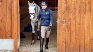 Bryan Balsiger monte les anciens chevaux de Paul Estermann