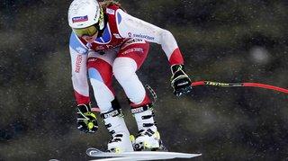 Ski alpin: Corinne Suter 2e de la descente de Lake Louise