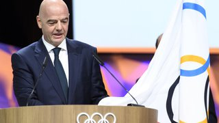 Le président de la FIFA Gianni Infantino élu membre du Comité international olympique (CIO)