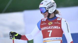 Ski alpin: Corinne Suter remporte la descente d'Altenmarkt-Zauchensee, Michelle Gisin 3e