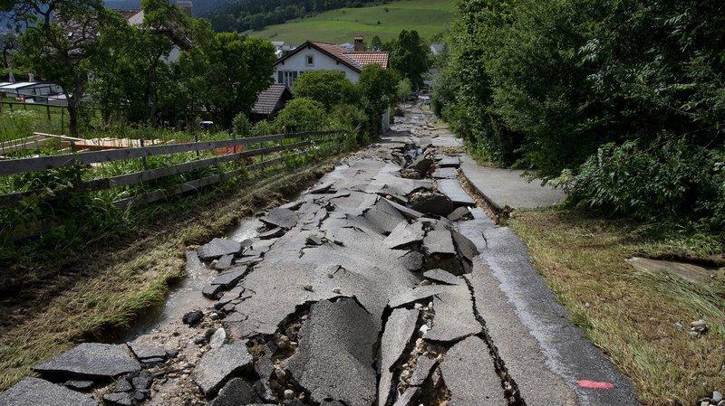 Inondations à Val-de-Ruz: un demi-million supplémentaire pour la remise en état