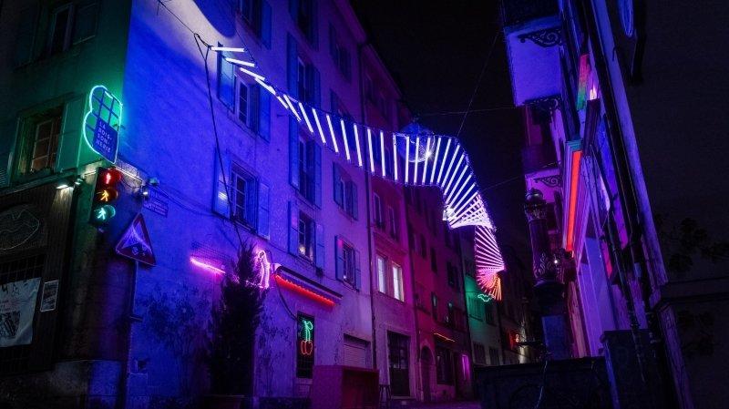 Un ADN lumineux au cœur de Neuchâtel