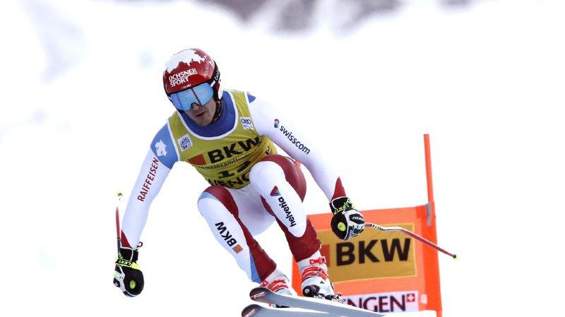 Ski alpin: Loïc Meillard termine 4e du combiné de Wengen, remporté l'Autrichien Matthias Mayer