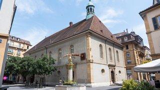 Neuchâtel: des panneaux solaires devraient être installés sur le Temple du Bas