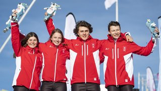 Le Neuchâtelois Robin Tissières remporte le cross mixte par équipe avec la Suisse