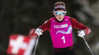 JOJ 2020 de Lausanne: Siri Wigger en or dans le cross libre féminin du ski de fond, la snowboardeuse Bianca Gisler en argent