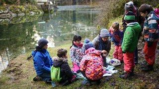 Saint-Sulpice: des jeunes à la découverte du cycle de l'eau